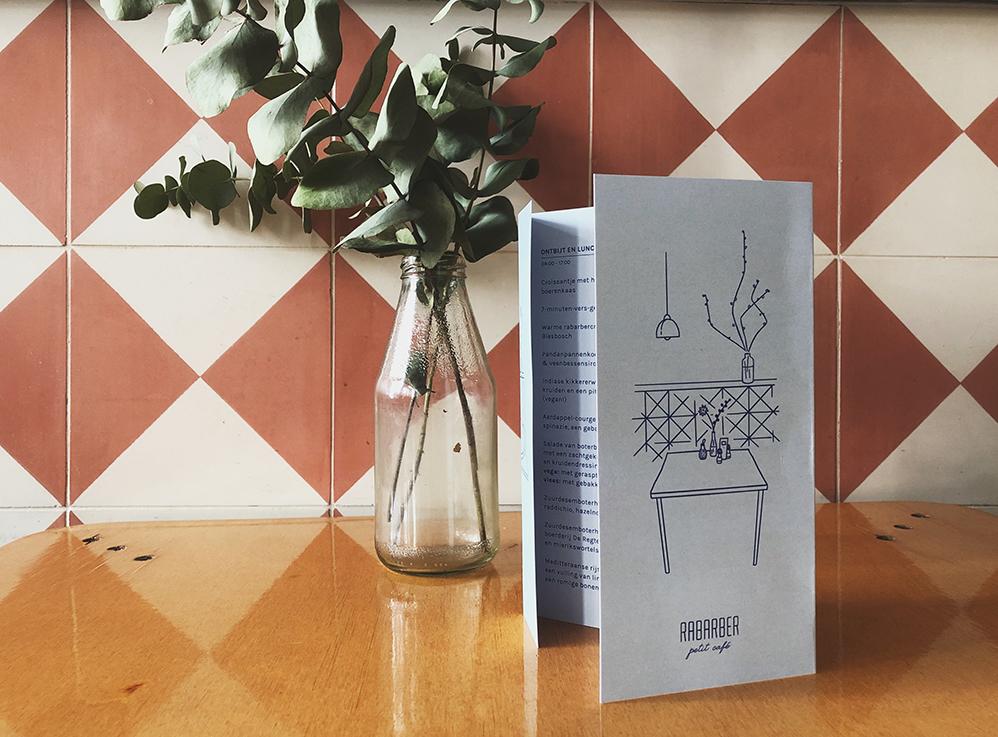 Rabarber menukaart